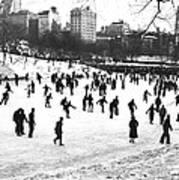Central Park Winter Carnival Art Print
