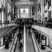 Central Station Milan Art Print