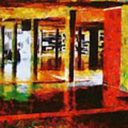 Central University Of Venezuela Art Print