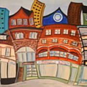 Centre Town Art Print