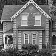 Century Home - Bw Art Print