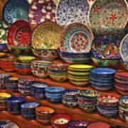 Ceramic Dishes Art Print