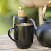Ceramic Tea Set Art Print