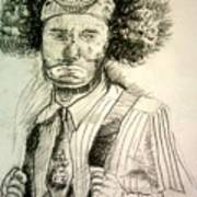 Ceremonial Clown Art Print