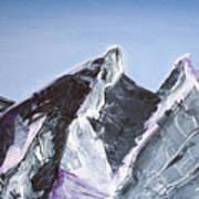Cerro De La Silla Of Monterrey Mexico Art Print