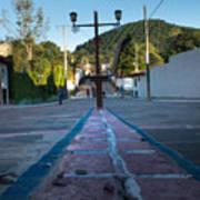Cerro De Las 3 Cruces - Apaneca 4 Art Print