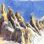 Cerro Torre, Patagonia Art Print
