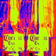 Cerveza Por Dos  Art Print