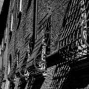 Cesena In Black And White Art Print