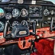 Cessna Cockpit Art Print