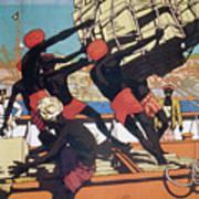 Ceylonese Dockworkers Art Print