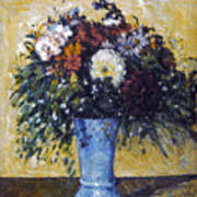 Cezanne: Flowers, 1873-75 Art Print