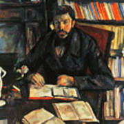 Cezanne: Geffroy, 1895-96 Art Print