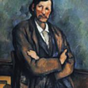 Cezanne: Man, C1899 Art Print