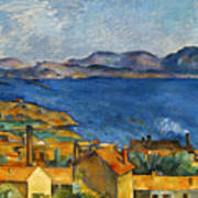 Cezanne Marseilles 1886-90 Art Print