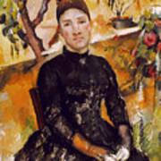 Cezanne: Mme Cezanne, 1890 Art Print