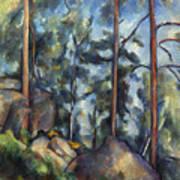 Cezanne: Pines, 1896-99 Art Print