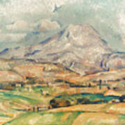 Cezanne: St. Victoire, 1897 Art Print