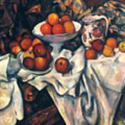 Cezanne: Still Life, C1899 Art Print