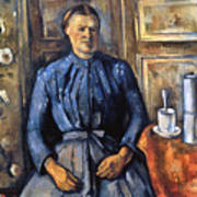 Cezanne: Woman, 1890-95 Art Print