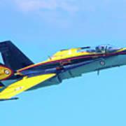 Cf-18 Hornet Art Print