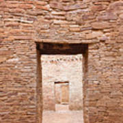 Chaco Canyon Doorways 1 Art Print