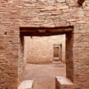 Chaco Canyon Doorways 2 Art Print