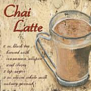 Chai Latte Art Print