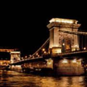 Chain Bridge - Budapest Art Print