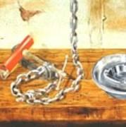 Chain Smoking Art Print