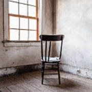 Chair By The Window Grafton Ghost Town Art Print