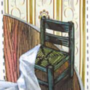 Chair Iv Art Print by Peter Allan