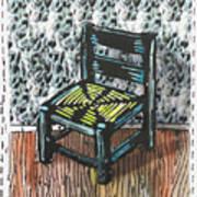 Chair Ix Art Print by Peter Allan