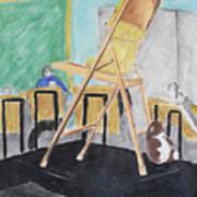 Chair Life Study Art Print