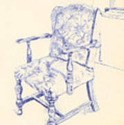 Chair Art Print