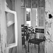 Chairs And Doors  Art Print