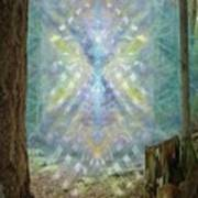 Chalice-tree Spirt In The Forest V2 Art Print