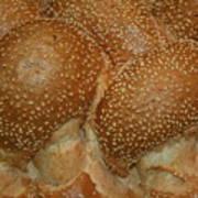Challah Bread Art Print