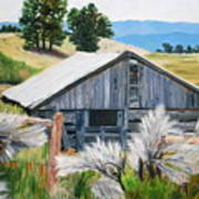 Chama Valley Barn Art Print