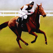 Champion Hurdle - Winner - Morley Street Art Print