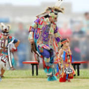 Championship Pow Wow - Grand Prairie Texas Art Print