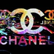 Chanel Black Art Print