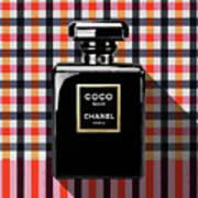 Chanel Coco Noir-pa-kao-ma2 Art Print