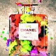 Chanel No. 5 Colored  Art Print