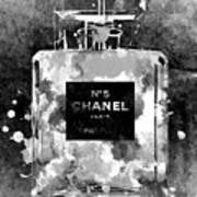 Chanel No. 5 Dark Art Print