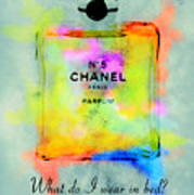 Chanel No.5  Art Print