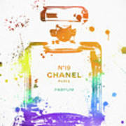 Chanel Number Nineteen Art Print