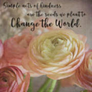 Change The World Art Print