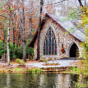 Chapel At Callaway Art Print