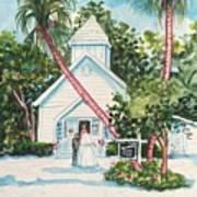 Chapel By The Sea Captiva Art Print